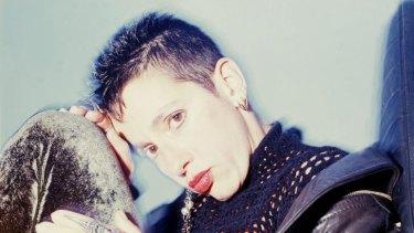 Feminist-punk icon: Kathy Acker.