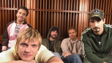 They'll never break your (fans) heart... The Backstreet Boys are back.