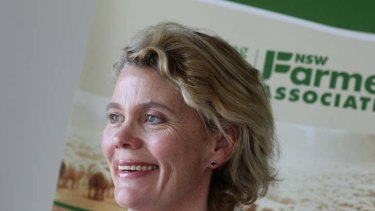 """The farmers think that any impact on farm operations is too much impact"" ... Fiona Simson, NSW Farmers Association president."