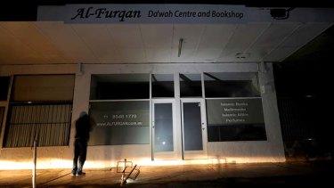 The al Furqan centre and book shop in Springvale.