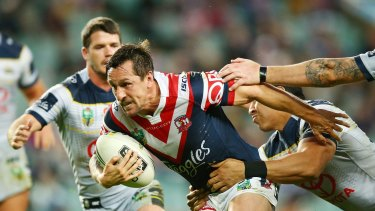In the clear: Mitchell Pearce.