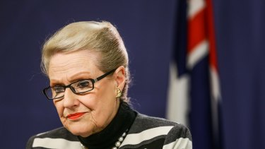 Bronwyn Bishop was rebuked by Prime Minister Tony Abbott on Monday.