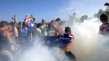 The 2005 Cronulla riots were widely seen as racially motivated.