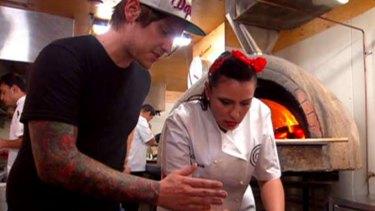 Tatt-Matt attempts to make Christina's carrots seem like an actual challenge ... <i>MasterChef</i>