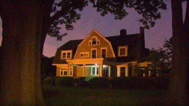 The $US1.3-million house in Westfield, New Jersey that is under the evil eye of 'The Watcher'.