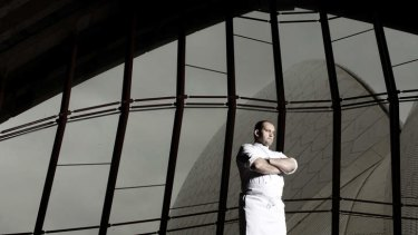 Guillaume Brahimi, head chef of restaurant <em> Guillaume at Bennelong. </em>