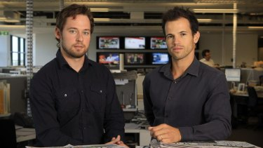 Nick McKenzie and Richard Baker, Investigative journalists for The Age