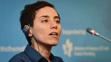 Iranian mathematician Maryam Mirzakhani was the first woman to win the Fields Medal