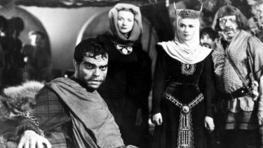 Path of destruction: A scene from Orson Welles' Macbeth.