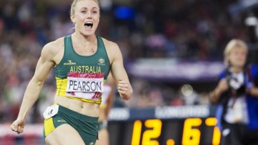Sally Pearson's winning time was her fastest since March.