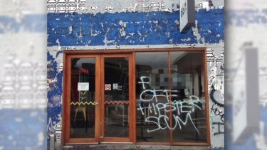 "The damage to 8bit in Footscray is ""ugly and unfortunate""."