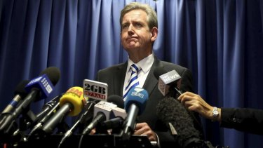 Barry O'Farrell's faltering memory is exposed at his news conference denial of a gift of Grange after his ICAC appearance on Tuesday.