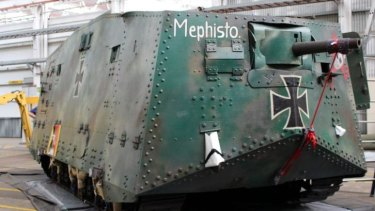 German WW1 tank Mephisto is the last of its kind in the world.