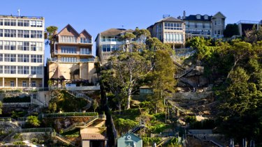 Home is where the houses are ... Mosman, the suburb of the merchant bankers.