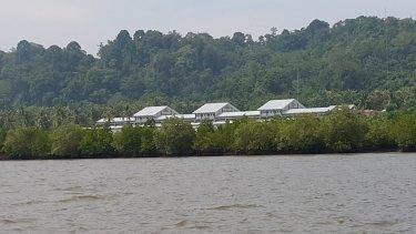 The isolation cells at Batu prison,  Nusakambangan.