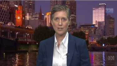New ACTU boss Sally McManus.