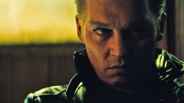 Johnny Depp underwent a physical transformation to play James ''Whitey'' Bulger in <i>Black Mass.</i>
