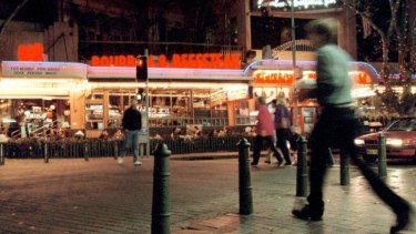 The colourful nightspot is still known to many by its original name, the Bourbon and Beefsteak.