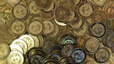 Bitcoin tokens.