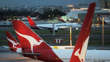 Qantas 'breached duty of care'.
