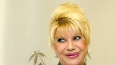 Ivana some peace and quiet ... Ivana Trump removed from plane after swearing at noisy children on the flight.