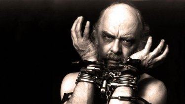Hard work: US conjuror and charlaton-buster, sceptic James Randi.