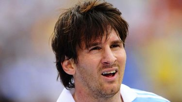 Rival ... Lionel Messi.