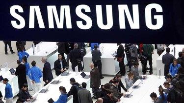 Tactics questioned: Samsung Taiwan.