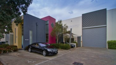This warehouse at 31 Essex Street, Pascoe Vale, has been leased to the Circus Spot and Acrobatics studio.