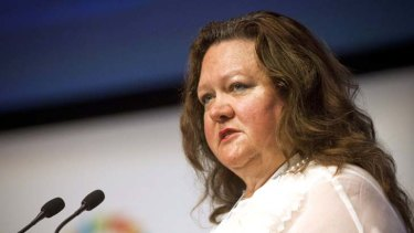 Gina Rinehart … has taken care of one issue relating to her Fairfax stake.
