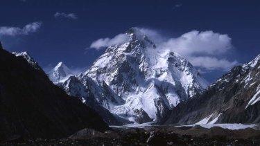 K2, the world's second-highest mountain, is in the Karakoram Range.
