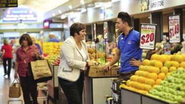 Belconnen Fresh Food Markets.