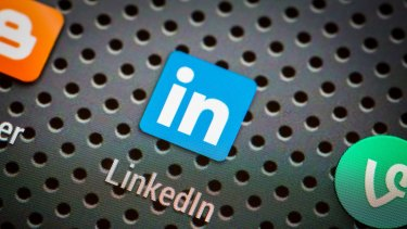 """LinkedIn is handy for """"networking""""."""