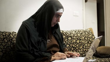 Mother Agnes Mariam of the Cross, who has dismissed the Syrian gas attack videos as a hoax.