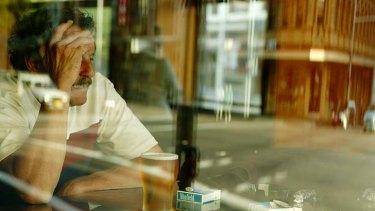 Greying concern ... more older people are battling drug problems.