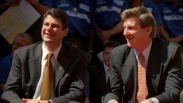 Both former premiers Steve Bracks (left) and Jeff Kennett tried tackling housing affordability.