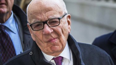 """""""Murdoch meanwhile, is utterly transparent in his motivations."""""""