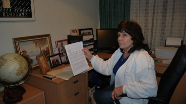 """Doreen Wilkes says a letter back from the dental clinic made her feel """"put down""""."""
