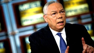 Colin Powell outlines his endorsement of Barack Obama on US television.