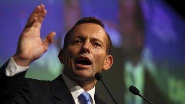 On a downward trajectory ...Tony Abbott's popularity.