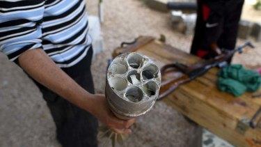 A cluster mortar.