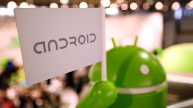 Google on top: Android's global smartphone market share rose to 81 per cent.