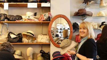 Benefits ... Jenny Nethercote, who runs the Hattery, a small business in Katoomba, has been online for the past 10 years .