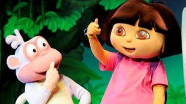'Exploited' ... Dora The Explorer.