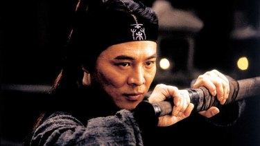 Jet Li in <i>Hero</i> (2002).