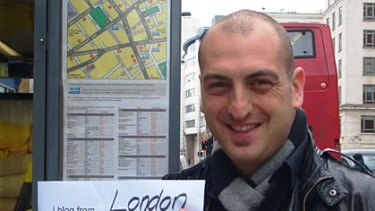 UK-based Aussie Adam Vincenzini, who developed the #BeMyGuest concept.