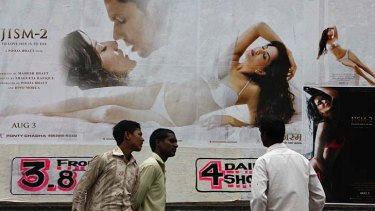 Bursting with smooches ... Indian cinematic sexuality is evolving.