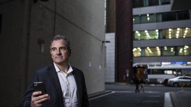OFX chief executive Richard Kimber has stepped down following a profit downgrade.
