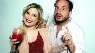 Emma Rose Brennan as CB and Dan Ilic as Mac in <i>Sidekicks</i>
