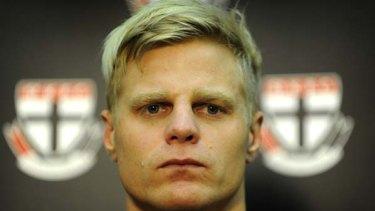 St Kilda FC captain Nick Riewoldt.
